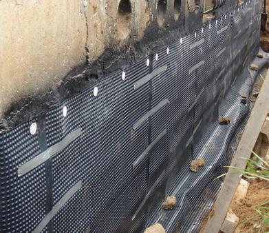 Проникающая гидроизоляция фундамента жилого дома наливной пол сколько надо на кв